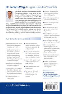 Dr. Jacobs Weg des genussvollen Verzichts - Buchrückseite